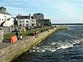 River Corrib from Wolfe Tone Bridge, Galway - geograph.org.uk - 102442.jpg
