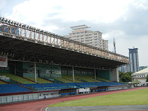 Rizal Memorial Stadium - The grandstand
