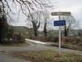 Road junction East of Nantmawr - geograph.org.uk - 1722565.jpg
