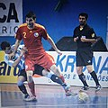 Robert F. Matei playing for Romanian national team..jpg