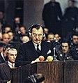 Robert H Jackson, Nuremberg Trail (20 November 1945).jpg