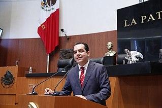 Roberto Albores Gleason Mexican Senator for Chiapas