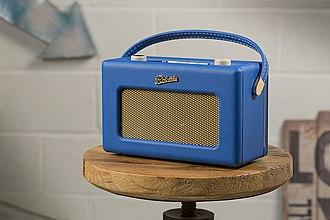 Roberts Radio - Image: Roberts Revival RD60 (Cobalt Blue)