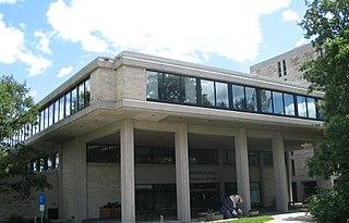 Robson Hall building at the University of Manitoba