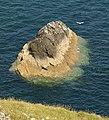 Rocky islet below Sharp Tor - geograph.org.uk - 1935867.jpg