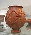 Roman pottery Central Gaulish samian jar.JPG