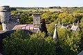 Roof towers chateau Miranda.jpg