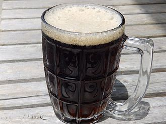 Root beer - A mug of root beer