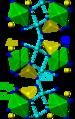 Rosélite structure.png