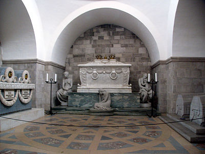 Interior of Christian IX's Chapel - Roskilde Cathedral