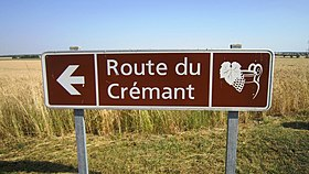 Image illustrative de l'article Route du crémant