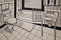 Roy Lichtenstein, Bathroom, 1961 1 15 18 -whitneymuseum (40611624171).jpg