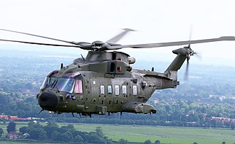 AgustaWestland AW101 - British Merlin HC3A in June 2012