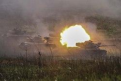 Royal Thai Armed Forces M60A1, Ban Chan Krem, Thailand, Feb. 21, 2014,.jpg