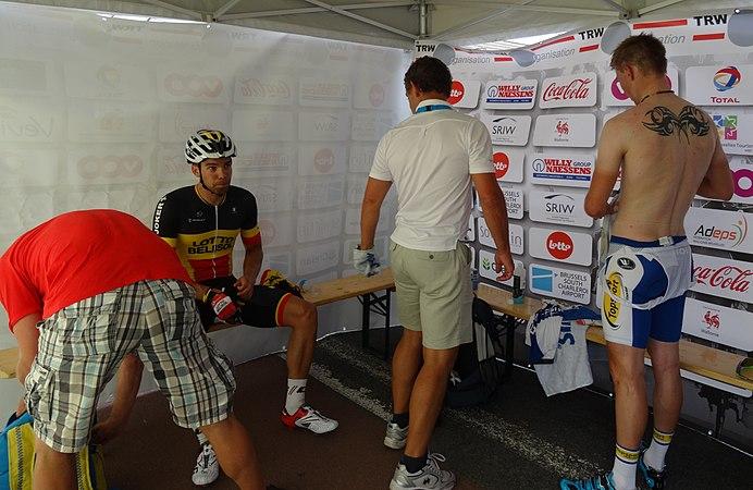 Rumillies (Tournai) - Tour de Wallonie, étape 1, 26 juillet 2014, arrivée (B09).JPG