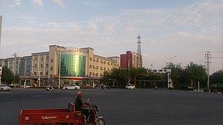 Ruoqiang County County in Xinjiang, Peoples Republic of China