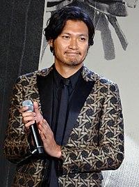 Rurouni Kenshin Kyoto Inferno The Legend Ends, Red Carpet Premiere Munetaka Aoki.jpg