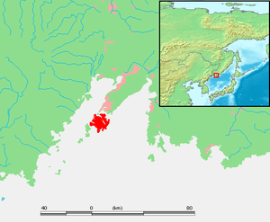 Russky Island - Location of Russky Island.