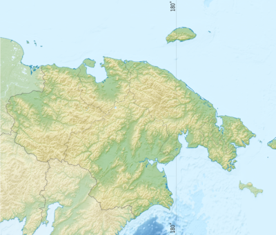 Location map Russia Chukotka Autonomous Okrug