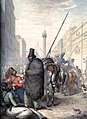 Russian cossacks in Paris streets in 1814.JPG