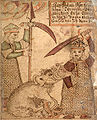 SÁM 66, 78v, Fenrir and Týr.jpg