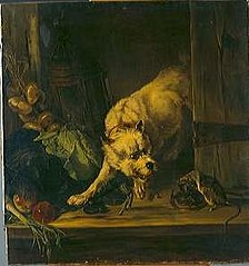 Dog with Rat