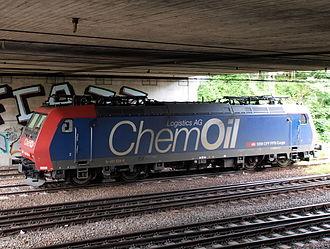 SBB Cargo - Image: SBB CFF FFS Cargo, Re 42 028 8, Chem Oil Logistics AG