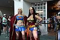 SDCC 2012 - Supergirl & Wonder Woman (7580446848).jpg