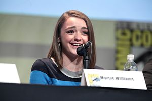 SDCC 2015 - Maisie Williams (19666962252).jpg