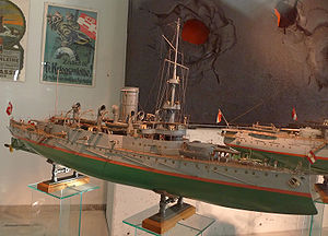 A 1:50 model of the Budapest