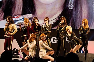 "Girls' Generation - Girls' Generation performing ""The Boys"" at the 2012 LG Cinema 3D World Festival"