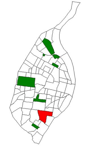 Dutchtown, St. Louis - Image: STL Neighborhood Map 16