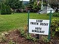 STOP TRUTH DECAY VOTE DEMOCRAT (44187268644).jpg