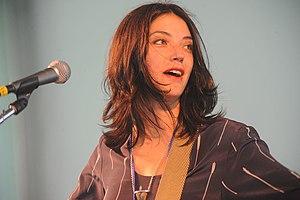 Sharon Van Etten - Image: SVE Newport 2012