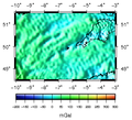 SW England Bouguer gravity anomaly map.png