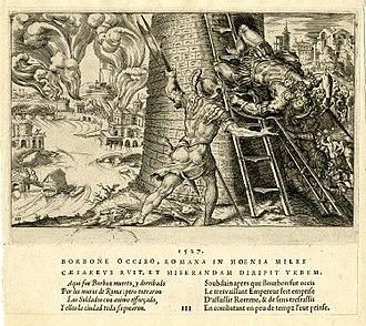 Sack of Rome (1527) - Sack of Rome. 6 May 1527. By Martin van Heemskerck (1527).