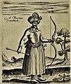 Safavid Persia men customs (Qizilbash) by Sir Thomas Herbert- طرح توماس هربرت از لباس مردان ایرانی (قزلباش) در دورهٔ صفوی.jpg