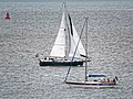 Sailing yachts 'Absconder' and 'Sommerwind' off Broadstairs, Kent, England.jpg