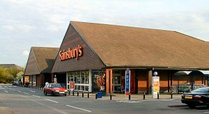 J. Sainsbury (Sainsbury's) supermarket, Chadde...
