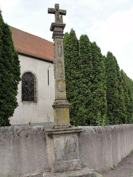Saint-Boingt (M-et-M) croix de cimetièrer MH