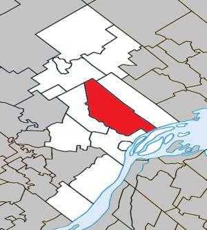 Saint-Cuthbert, Quebec - Image: Saint Cuthbert Quebec location diagram