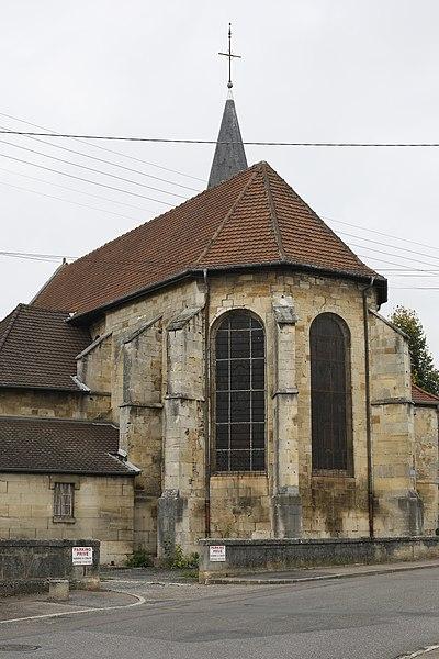 Église Saint-Martin de la Noue à Saint-Dizier.