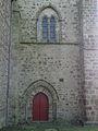 Saint-Méen-le-Grand (35) Abbatiale Façade nord 01.JPG