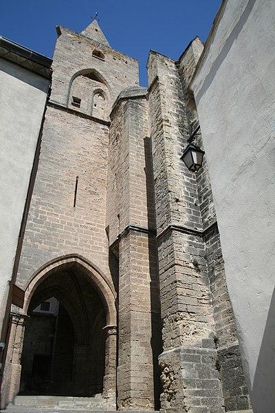 Saint-Pargoire (Hérault) - clocher de l'église Saint-Pargoire.