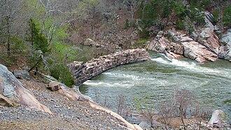 St. Francis River - Image: Saint Francis River, USA 04 09