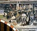 Saint George and the princess by Pisanello - Pellegrini Chapel - Sant'Anastasia - Verona 2016 and corrections (perspective, lights, definition by Paolo Villa 2019).jpg