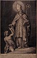 Saint Gregory the Great. Line engraving by F. Bloemaert afte Wellcome V0032163.jpg