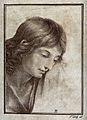 Saint John the Evangelist. Lithograph by F. Piloty after A. Wellcome V0032372.jpg