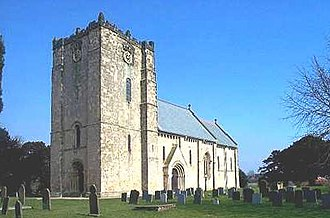 Church of St Michael and All Angels, Garton on the Wolds - Image: Saint Michael and All Angels Church, Garton on the Wolds, Yorkshire, England 2004