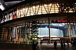 Saitama Super Arena Night from Ground.jpg
